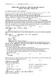 Hướng dẫn giải đề thi Đại học môn Hóa khối A năm 2012 (Mã đề 384)