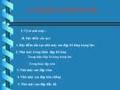 Bài giảng Nhà máy thủy điện: Chương II.4