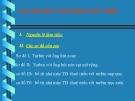 Bài giảng Nhà máy thủy điện: Chương II.5