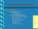Bài giảng Nhà máy thủy điện: Chương I (3-6)