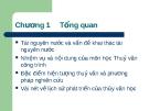 Bài giảng Thủy văn công trình: Chương 1 (tt)