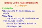 Bài giảng Công trình trên hệ thống thủy lợi: Chương 4 - GS.TS. Nguyễn Chiến