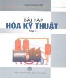 Ebook Bài tập hóa kỹ thuật (tập 1) - NXB Khoa học và Kỹ thuật Hà Nội