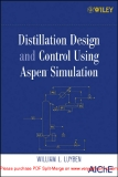 Ebook Distillation design and control using aspentm simulation