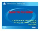 Bài giảng Quản trị tài chính: Chương 1 -  PGS,TS. Nguyễn Quang Thu