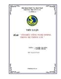 Tiểu luận: Tìm hiểu công nghệ OFDMA trong hệ thống LTE
