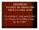 Bài giảng Thuế: Chương 9 - TS. Nguyễn Văn Nhơn