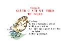 Bài giảng Quản trị tài chính: Chương 4 -  PGS,TS. Nguyễn Quang Thu