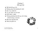 Bài giảng Dự báo kinh doanh - Chương 5: Hồi quy bội
