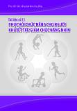 Tài liệu số 11: Phục hồi chức năng cho người khuyết tật/giảm chức năng nhìn
