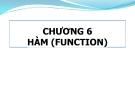 Bài giảng Phương pháp lập trình: Chương 6 - GV. Từ Thị Xuân Hiền