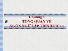 Bài giảng Phương pháp lập trình: Chương 1 - GV. Từ Thị Xuân Hiền