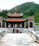 Khóa luận tốt nghiệp Văn hóa du lịch: Tìm hiểu các di tích lịch sử văn hoá ở huyện Đông Triều – Quảng Ninh phục vụ cho phát triển du lịch