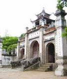 Khóa luận tốt nghiệp Văn hóa du lịch: Khai thác giá trị văn hóa của đình Hàng Kênh – Hải Phòng phục vụ cho phát triển du lịch