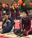 Khóa luận tốt nghiệp Văn hóa du lịch: Tìm hiểu nghệ thuật Ca trù Đông Môn - Thủy Nguyên - Hải Phòng và định hướng khai thác trong du lịch