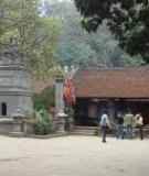 Khóa luận tốt nghiệp Văn hóa du lịch: Tìm hiểu di tích đền Cúc Bồ - Ninh Giang – Hải Dương. Hiện trạng và giải pháp