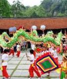 Khóa luận tốt nghiệp Văn hóa du lịch: Tìm hiểu một số lễ hội tiêu biểu ở khu vực Việt Bắc góp phần phát triển du lịch nhân văn