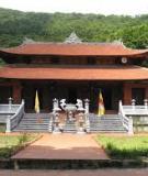 Khóa luận tốt nghiệp Văn hóa du lịch: Hiện trạng và định hướng phát triển du lịch tại quần thể di tích chùa Dâu – Thành Cổ Luy lâu – Chùa Bút Tháp
