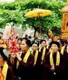 Khóa luận tốt nghiệp Văn hóa du lịch: Khai thác các giá trị văn hóa của lễ hội Đền Sóc (Đền Gióng) - Sóc Sơn để phục vụ Du lịch