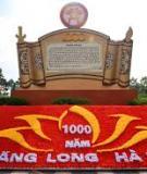 Khóa luận tốt nghiệp Văn hóa du lịch: Xây dựng sản phẩm du lịch đêm Hà Nội dành cho khách nước ngoài trong dịp Đại lễ 1000 năm Thăng Long