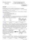 Đề thi Đại học môn Vật lí khối A & A1 năm 2014 (Mã đề 692)