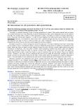 Đề thi Đại học môn Tiếng Anh khối A1 năm 2014 (Mã đề 973)