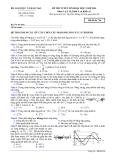 Đề thi Đại học môn Vật lí khối A & A1 năm 2014 (Mã đề 746)