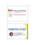 Bài giảng Marketing căn bản: Chương 6 - Th.S. Nguyễn Ngọc Long