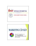 Bài giảng Marketing căn bản: Chương 3 - Th.S. Nguyễn Ngọc Long