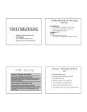 Bài giảng Tâm lý khách hàng: Chương 1 - ThS. Nguyễn Ngọc Long