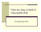 Bài giảng Viêm tủy răng và bệnh lý vùng quanh chóp - ThS. Nguyễn Ngọc Thúy