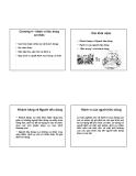 Bài giảng Tâm lý khách hàng: Chương 4 - ThS. Nguyễn Ngọc Long