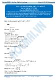 Luyện thi Đại học Kit 1 - Môn Toán Bài 06: Bất phương trình chưa cân (Phần 2)