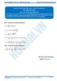 Luyện thi Đại học Kit 1 - Môn Toán: Bài tập tổng hợp tìm GTLN, GTNN của hàm số (Tài liệu bài giảng)