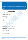 Luyện thi Đại học Kit 1 - Môn Toán Bài 11: Giải phương trình mũ bằng phương pháp đặt ẩn phụ