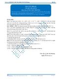 Luyện thi Đại học Kit 1 - Môn Toán: Mặt cầu Phần 02 (Tài liệu bài giảng)