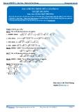 Luyện thi Đại học Kit 1 - Môn Toán Bài 3: Phương trình chứa căn (Phần 3)