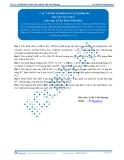 Luyện thi Đại học Kit 1 - Môn Toán: Các vấn đề về khoảng cách Phần 06 (Bài tập tự luyện)