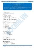 Luyện thi Đại học Kit 1 - Môn Toán Bài 2: Phương trình chứa căn (Phần 2)