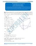 Luyện thi Đại học Kit 1 - Môn Toán: Thể tích khối lăng trụ Phần 01 (Đáp án bài tập tự luyện)