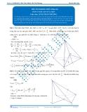 Luyện thi Đại học Kit 1 - Môn Toán: Thể tích khối chóp Phần 04 (Đáp án bài tập tự luyện)