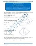 Luyện thi Đại học Kit 1 - Môn Toán: Thể tích khối chóp Phần 03 (Đáp án bài tập tự luyện)