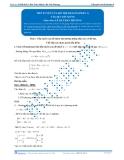 Luyện thi Đại học Kit 1 - Môn Toán: Tiếp tuyến của đồ thị hàm số_P1 (Tài liệu bài giảng)