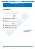 Bất phương trình mũ và logarit Phần 2: Bài tập tự luyện