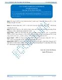 Luyện thi Đại học Kit 1 - Môn Toán: Các vấn đề về khoảng cách Phần 06 (Tài liệu bài giảng)
