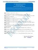 Luyện thi Đại học Kit 1 - Môn Toán: Cực trị hàm trùng phương (Bài tập tự luyện)