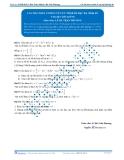Luyện thi Đại học Kit 1 - Môn Toán: Các bài toán cơ bản về cực trị hàm bậc ba (Phần 02)