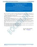 Luyện thi Đại học Kit 1 - Môn Toán: Các vấn đề về khoảng cách Phần 05 (Bài tập tự luyện)