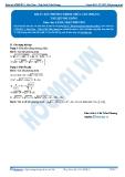 Luyện thi Đại học Kit 1 - Môn Toán Bài 07: Bất phương trình chưa cân (Phần 3)