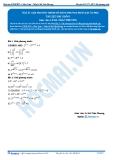 Luyện thi Đại học Kit 1 - Môn Toán Bài 10: Giải phương trình mũ bằng phương pháp đặt ẩn phụ